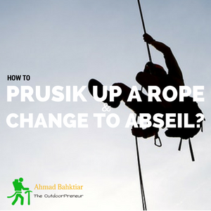 Product Thumbnail - How to prusik up a rope and change to abseil