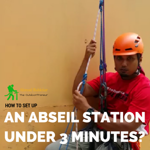 Product Thumbnail - How to set up an abseil station under 3 minutes